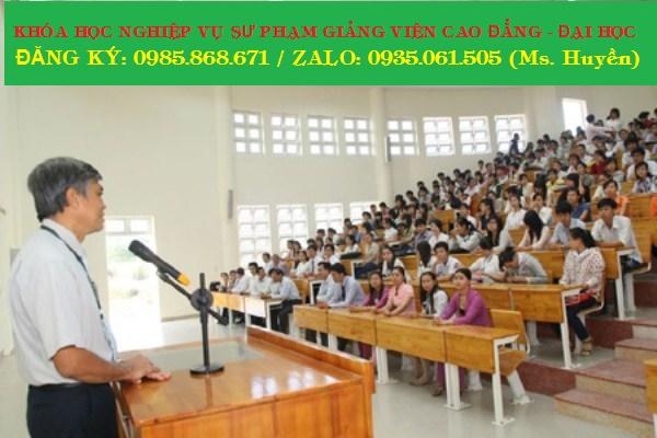 Học Nghiệp vụ sư phạm giảng viên  Đại học, cao đẳng online tại Đà Nẵng